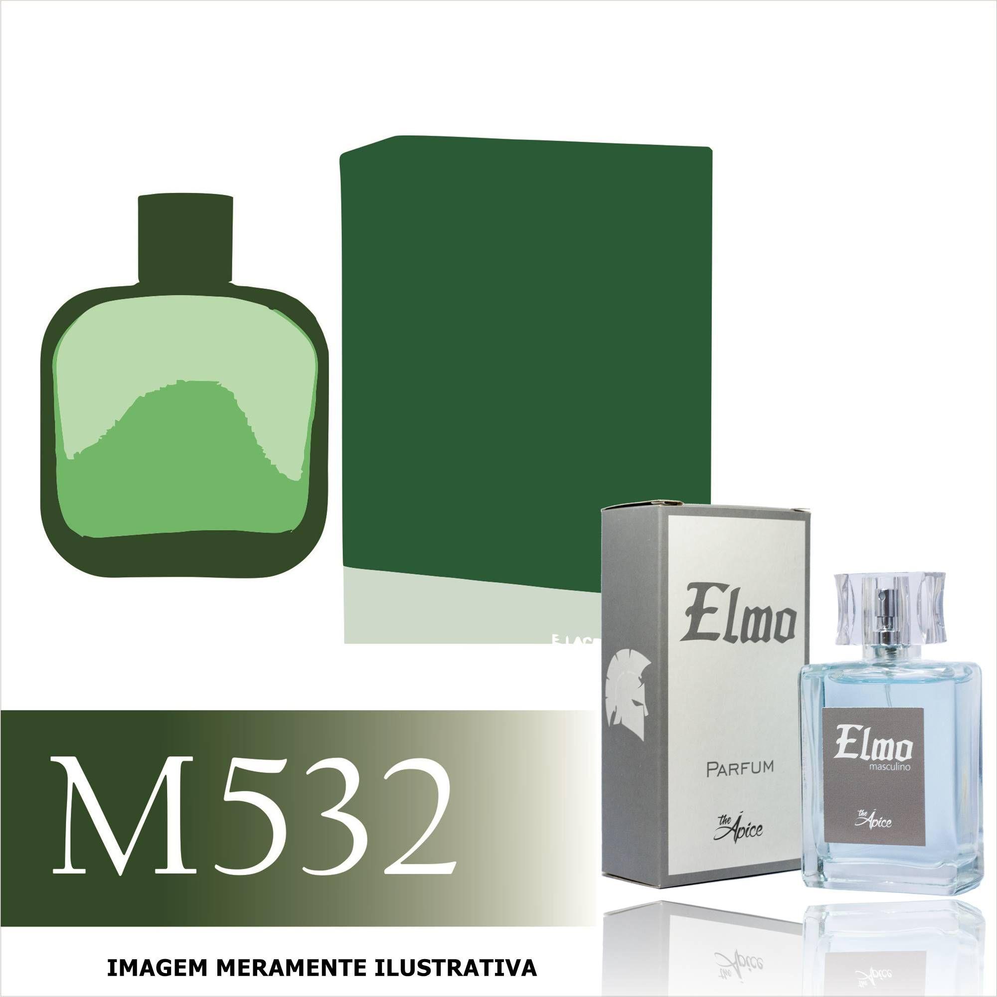 Perfume M532 Inspirado no L.12.12. Green  da Lacoste Masculino