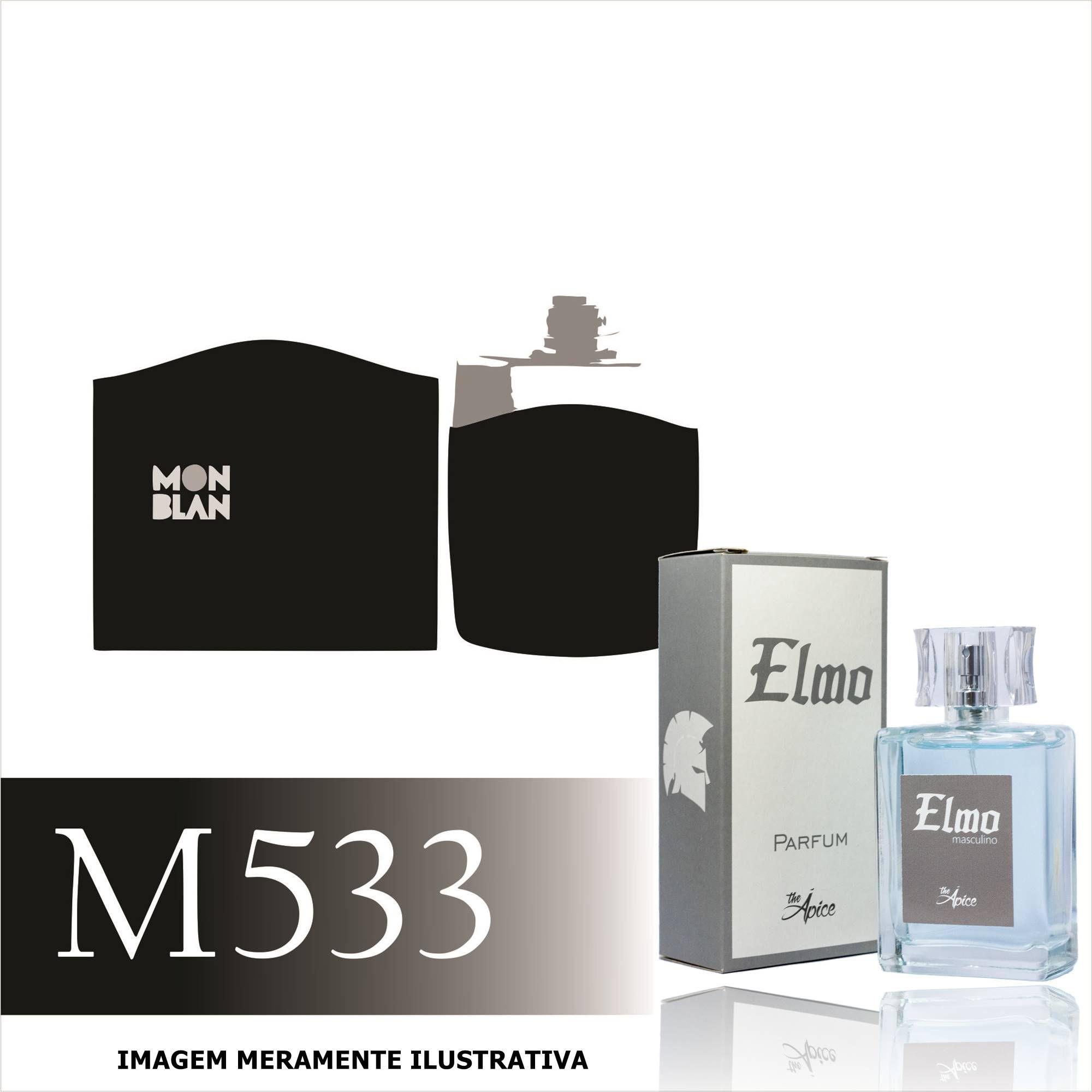 Perfume M533 Inspirado no Legend da Mont Blanc Masculino