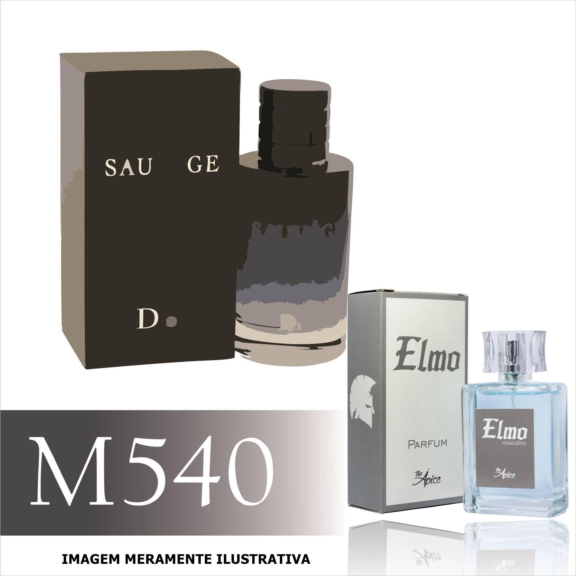 Perfume M540 Inspirado no Sauvage da Christian Dior Masculino