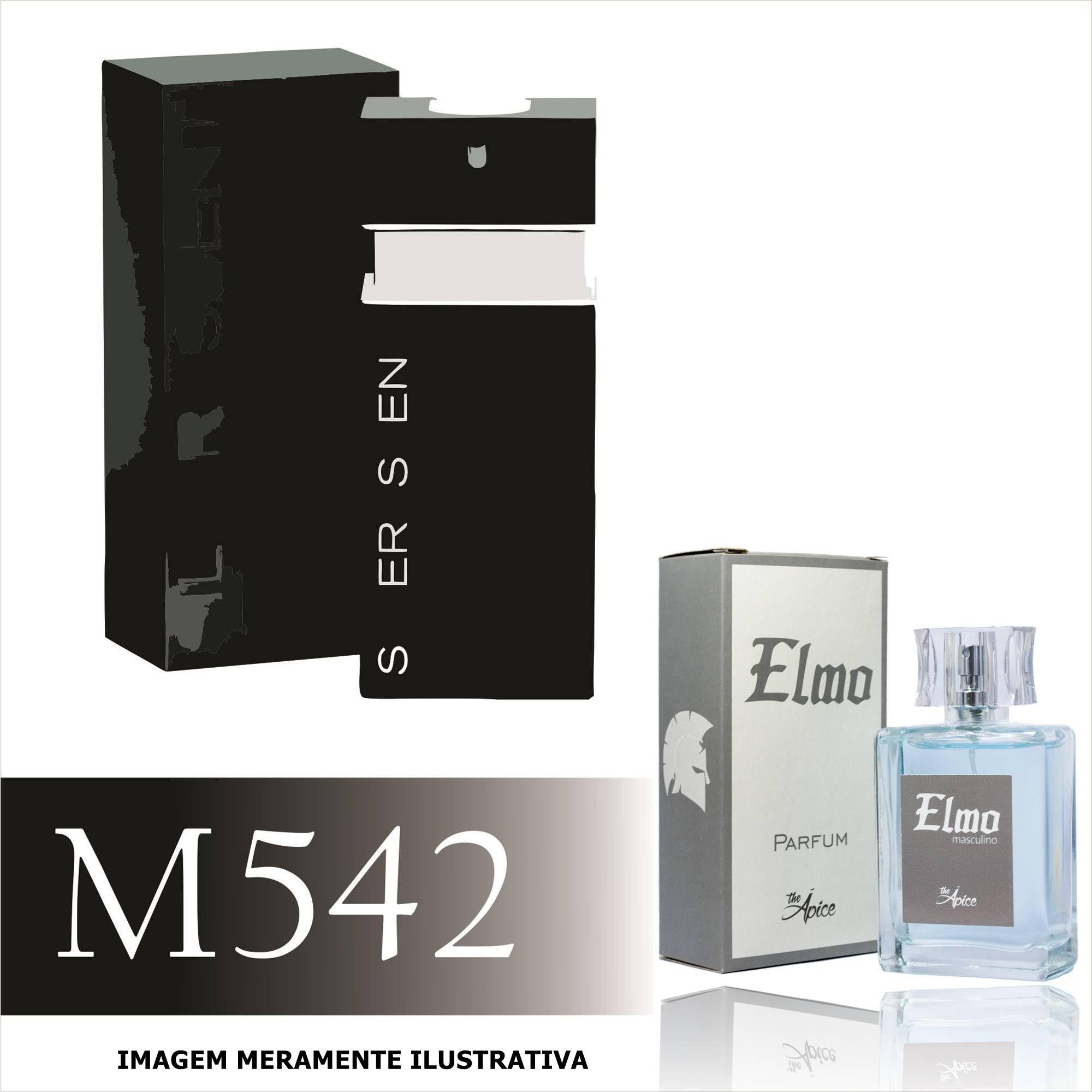 Perfume M542 Inspirado no Silver Scent da Jacques Bogart Masculino