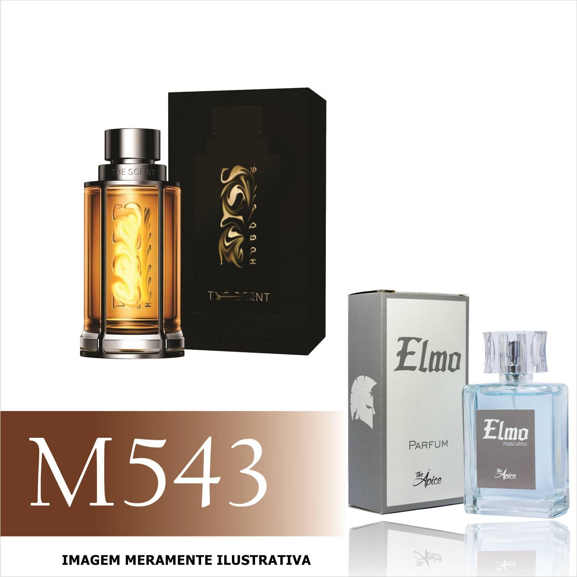 Perfume M543 Inspirado no Boss The Scent da Hugo Boss Masculino