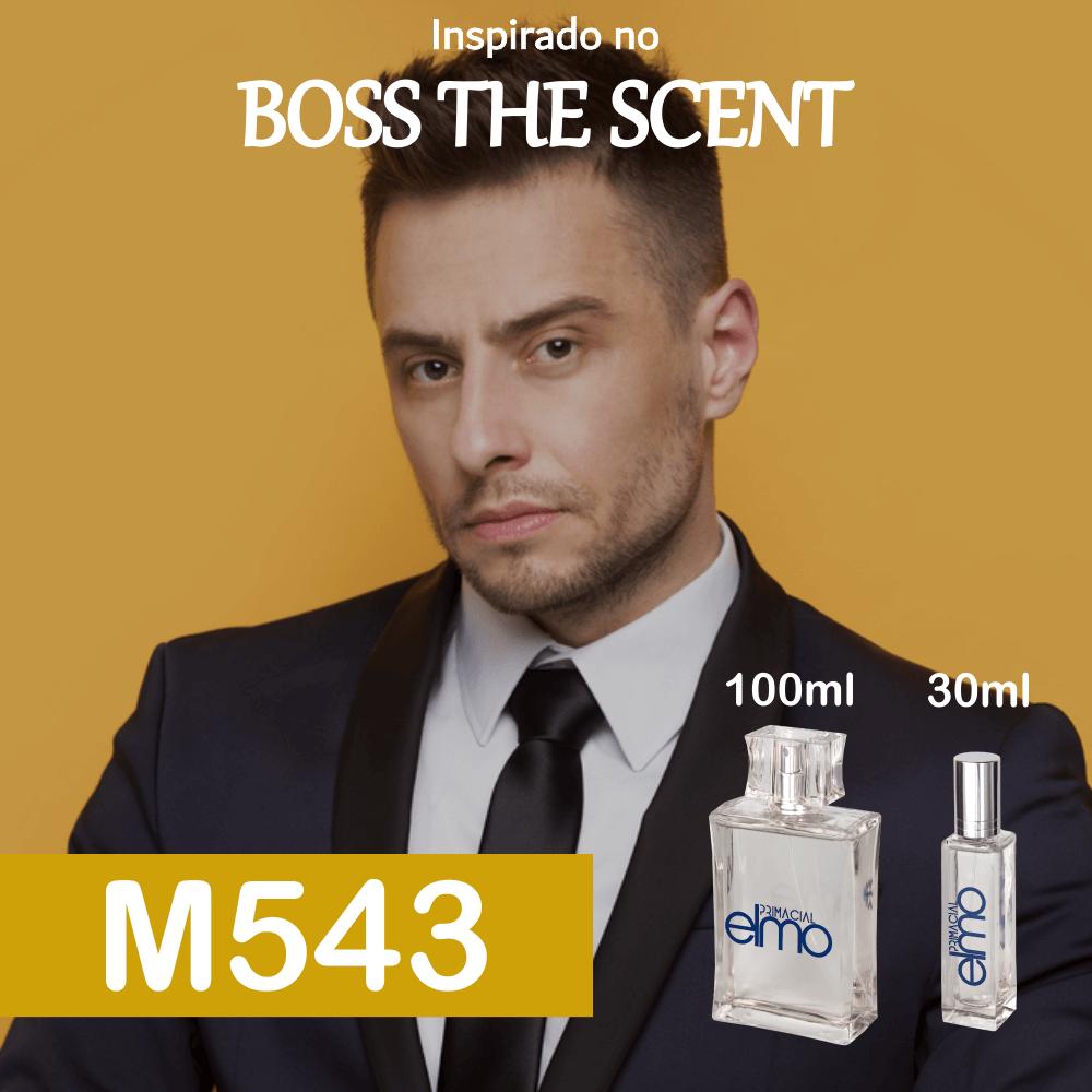 Perfume M543 Inspirado no Boss The Scent Masculino