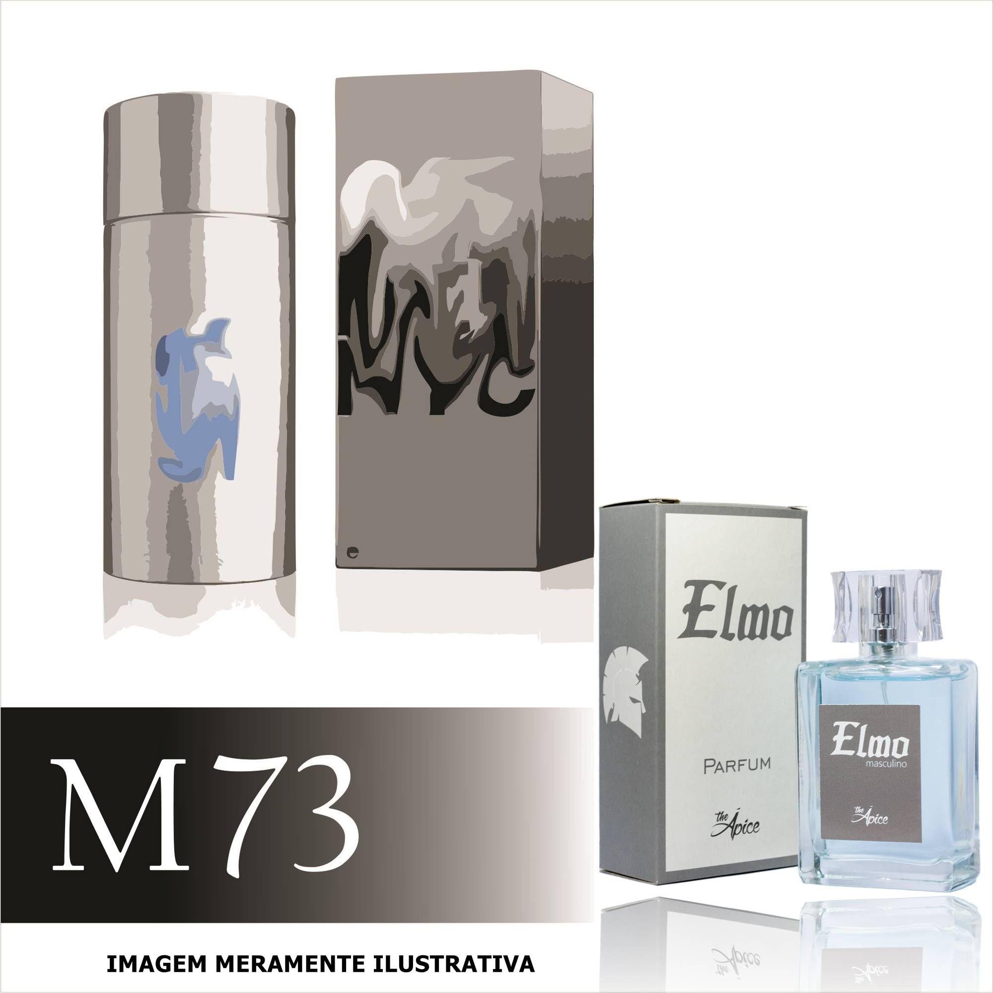Perfume M73 Inspirado no 212 Men NYC da Carolina Herrera Masculino