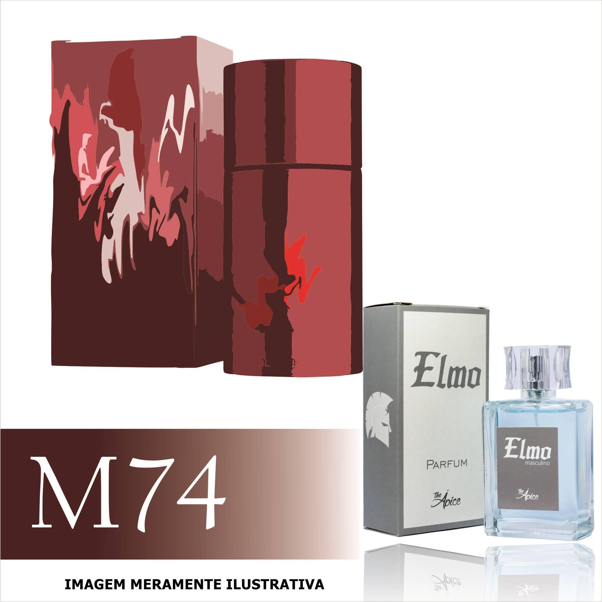 Perfume M74 Inspirado no 212 Sexy Men da Carolina Herrera Masculino