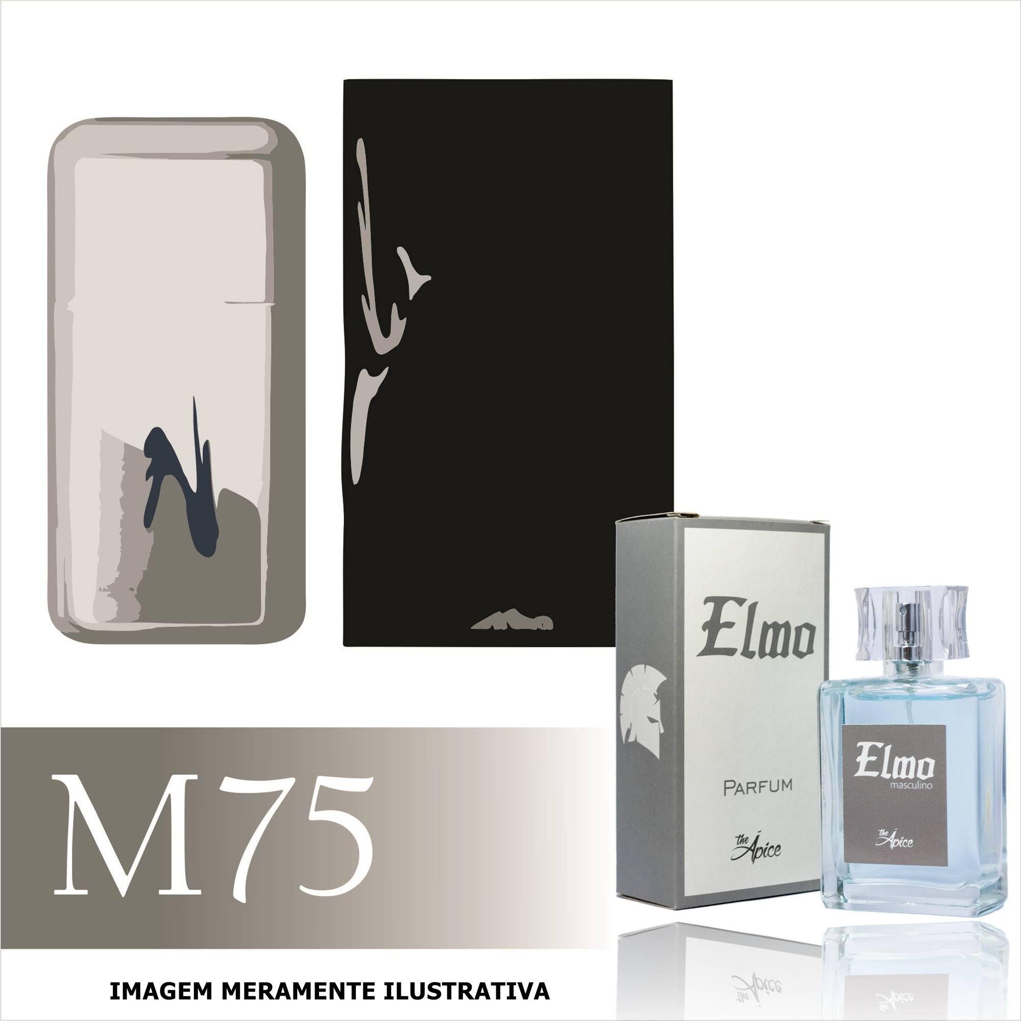 3ed3b65be Perfume M75 Inspirado no 212 Vip da Carolina Herrera Masculino