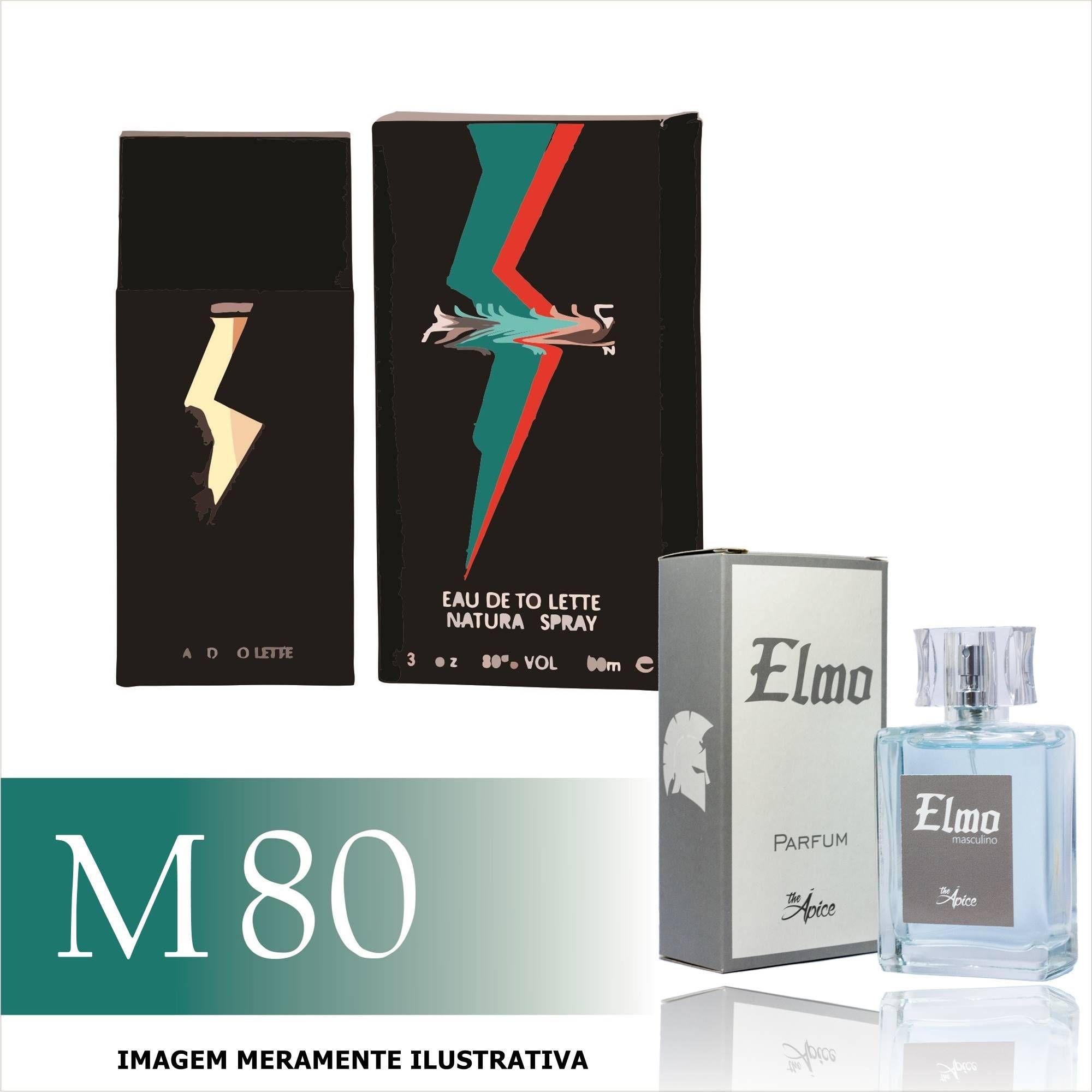 Perfume M80 Inspirado no Animale For Men da Animale Masculino