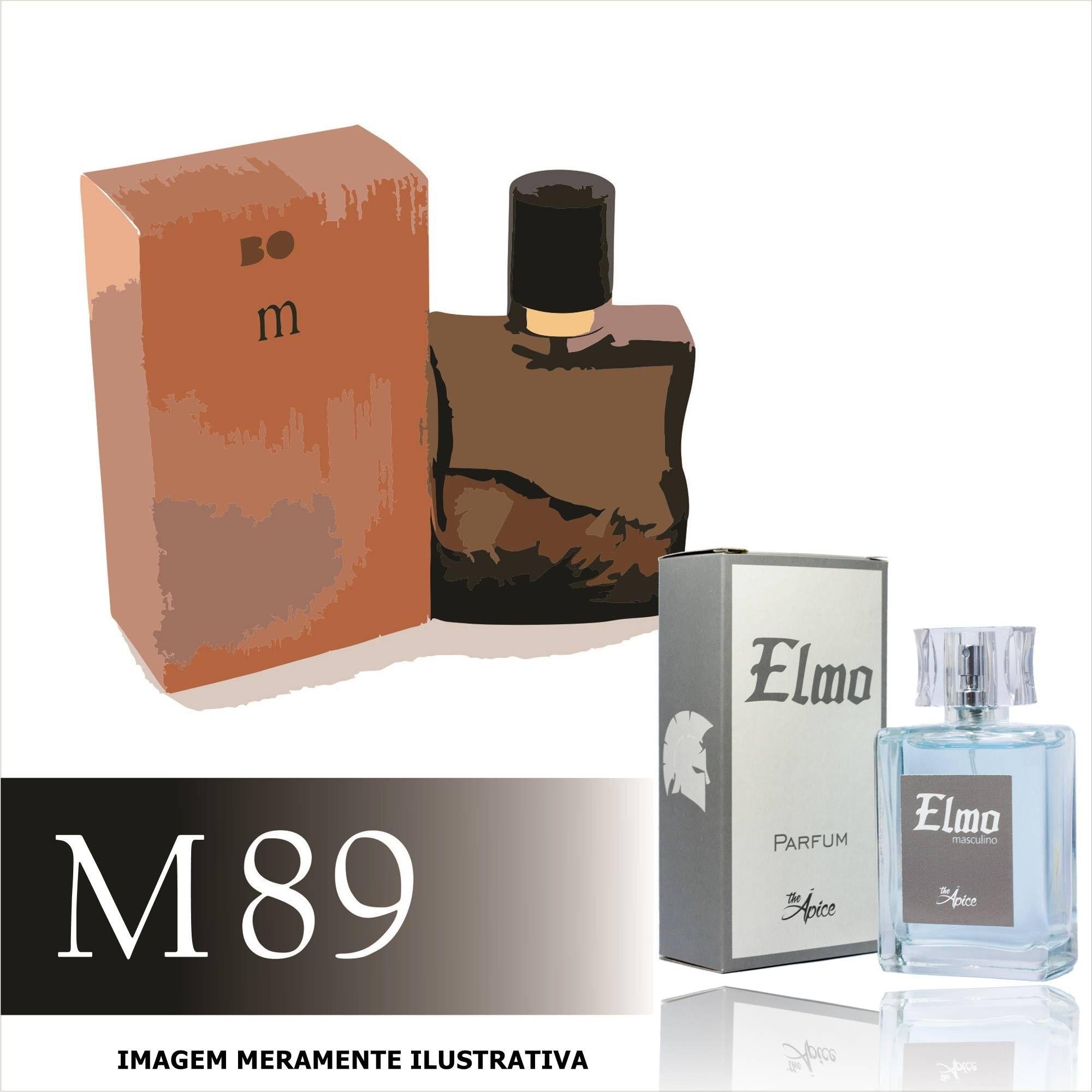 Perfume M89 Inspirado no Boss Elements da Hugo Boss Masculino