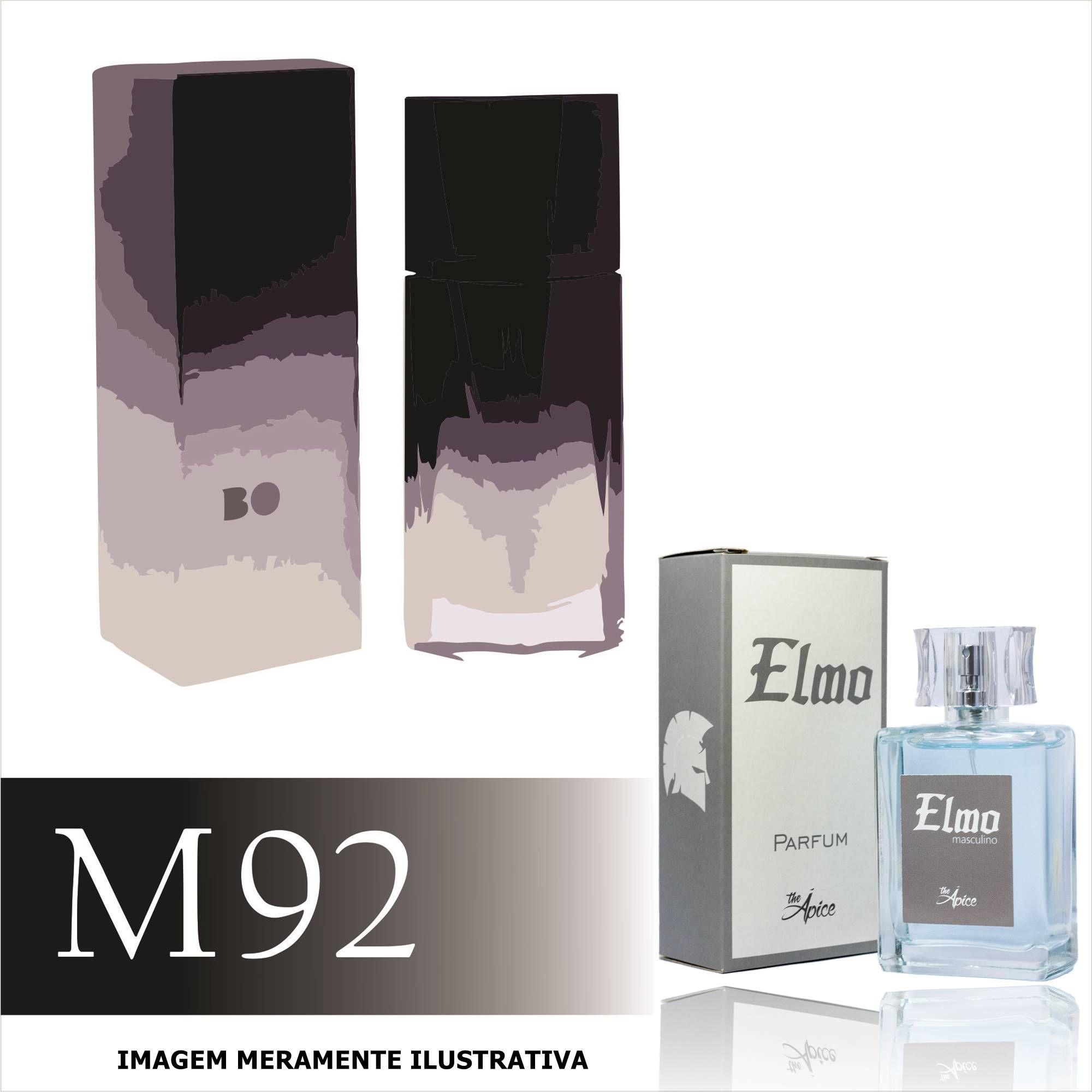 Perfume M92 Inspirado no Boss Soul da Hugo Boss Masculino