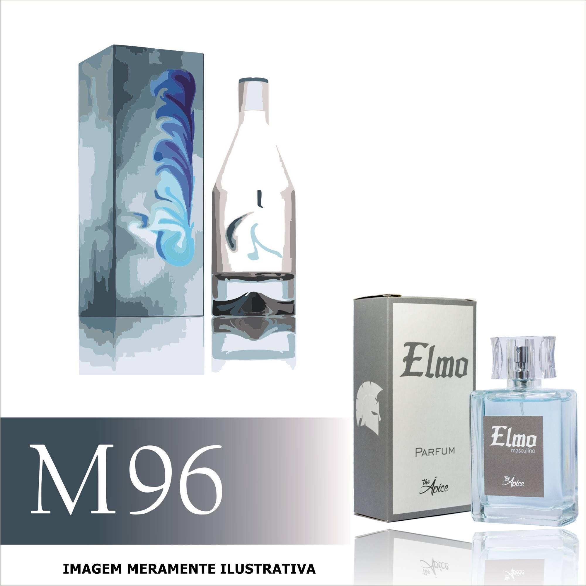 Perfume M96 Inspirado no CKIN2U Him da Calvin Klein Masculino