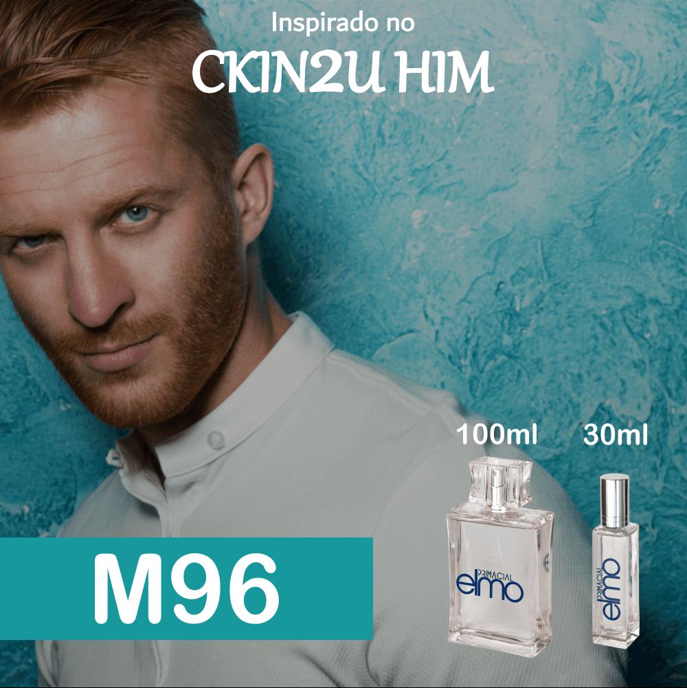 Perfume M96 Inspirado no CKIN2U Him Masculino