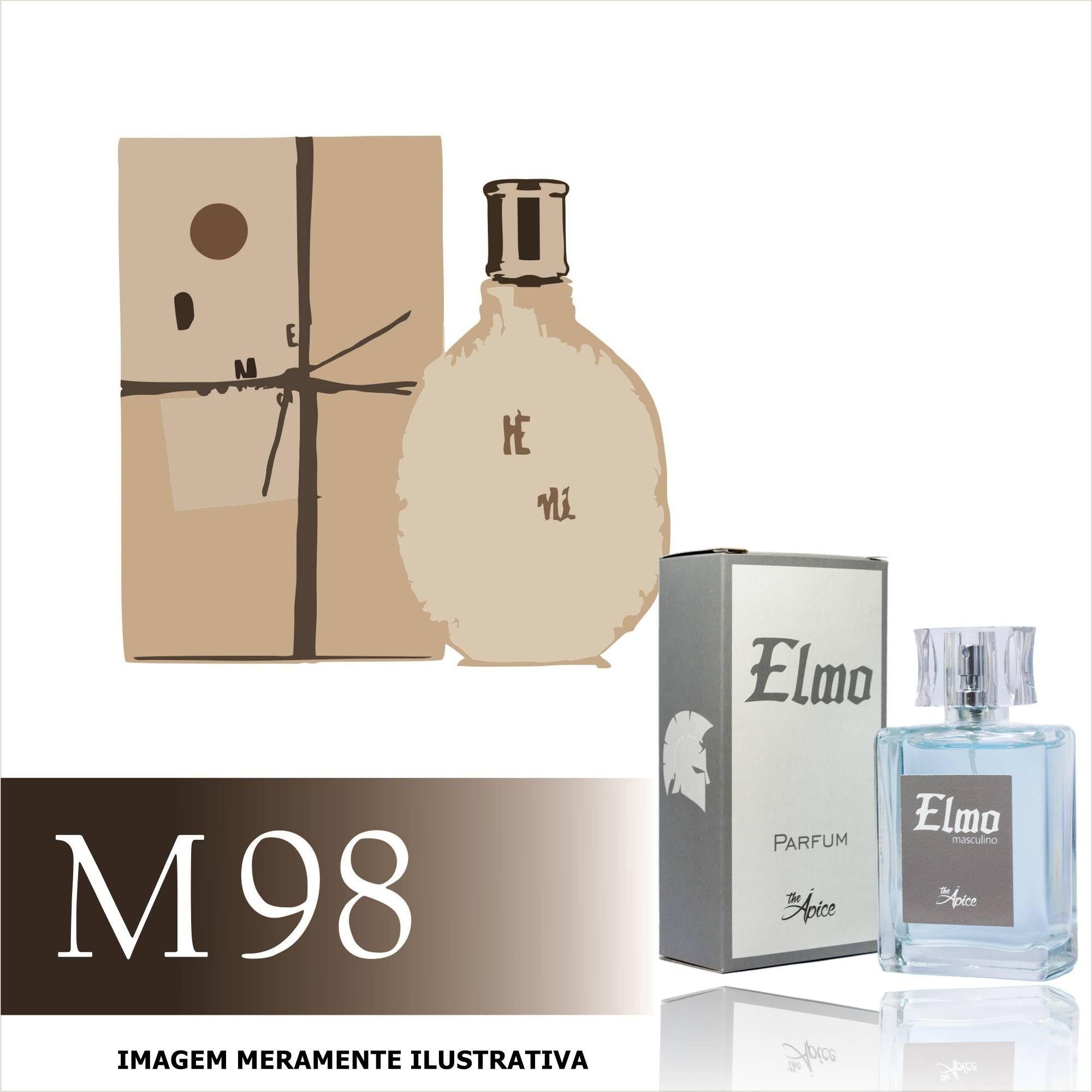 Perfume M98 Inspirado no Diesel Fuel For Life da Diesel Masculino