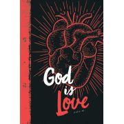 Bíblia NVT God is Love 2.0 Red - Letra Normal