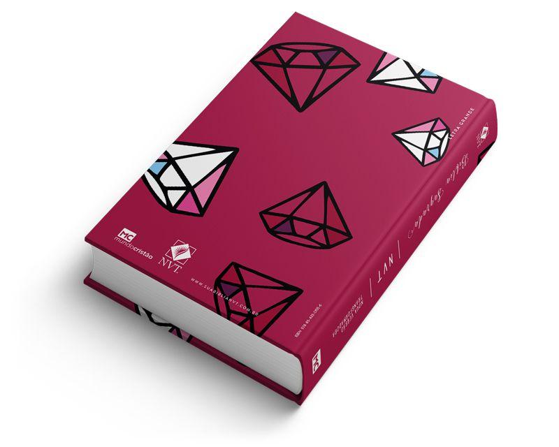 Bíblia NVT Diamonds - Letra Grande