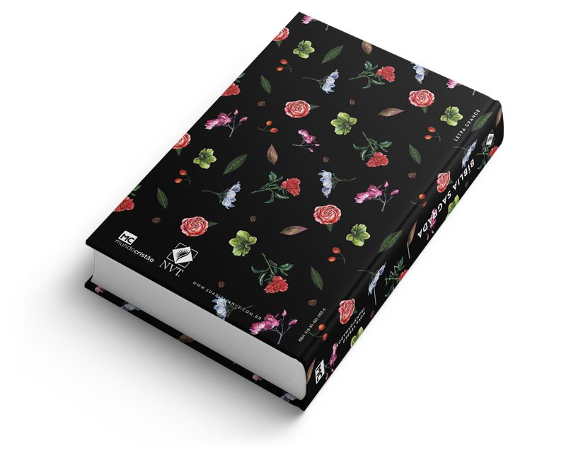 Bíblia NVT Flores do Campo - Letra Grande