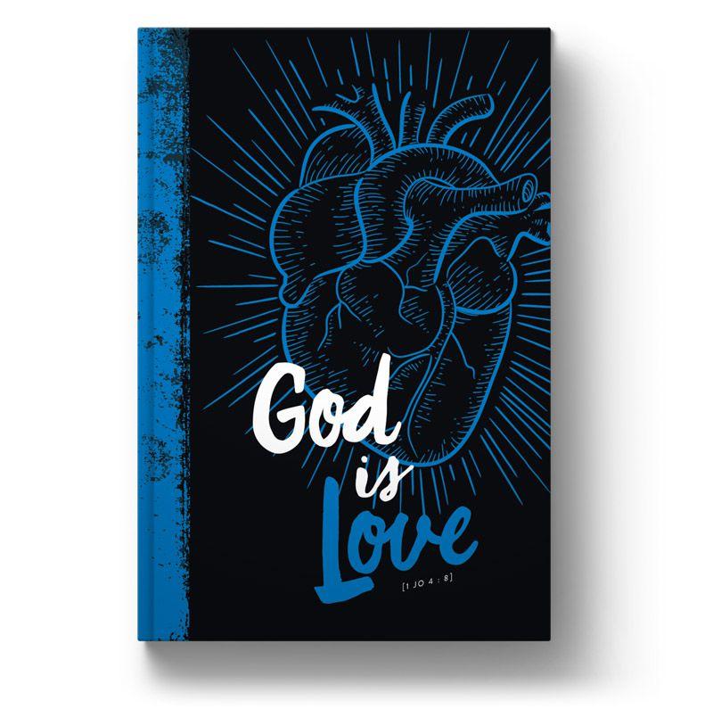 Bíblia NVT God is Love 2.0 Blue - Letra Grande