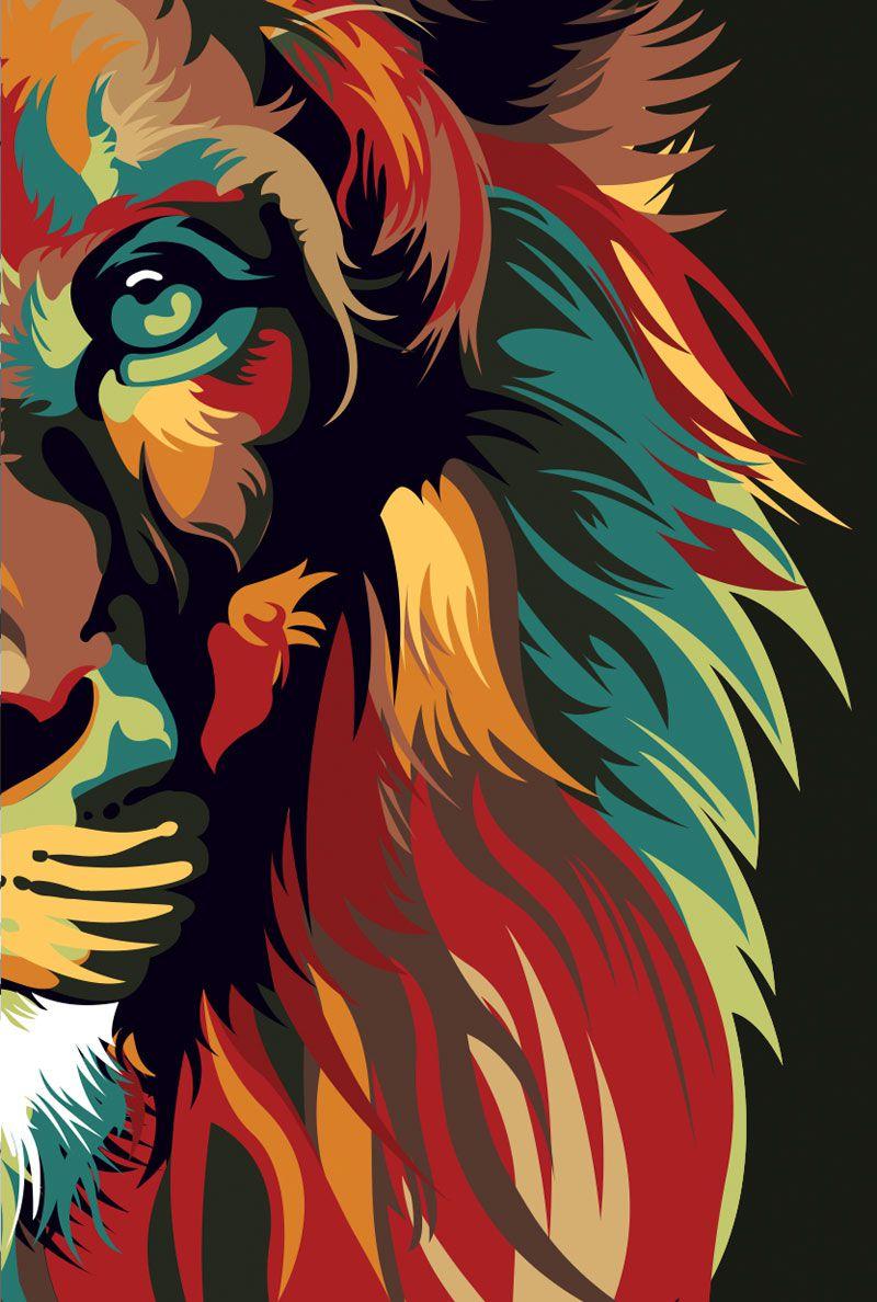 Bíblia NVT Lion Colors Nature - Letra Grande