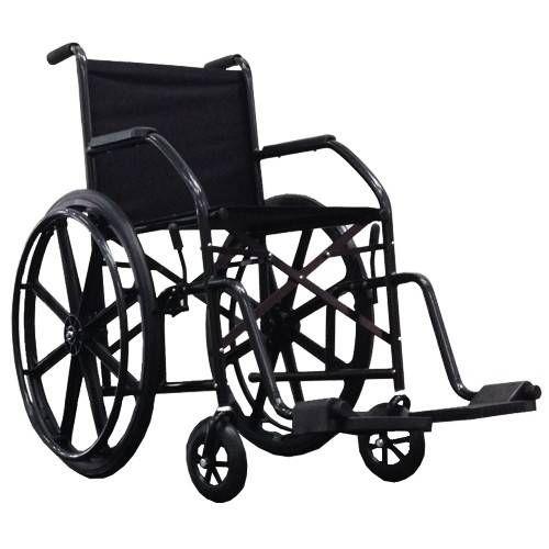 Cadeira De Rodas Cds 102 cinza Rodas de Nylon Com Pneus Infláveis