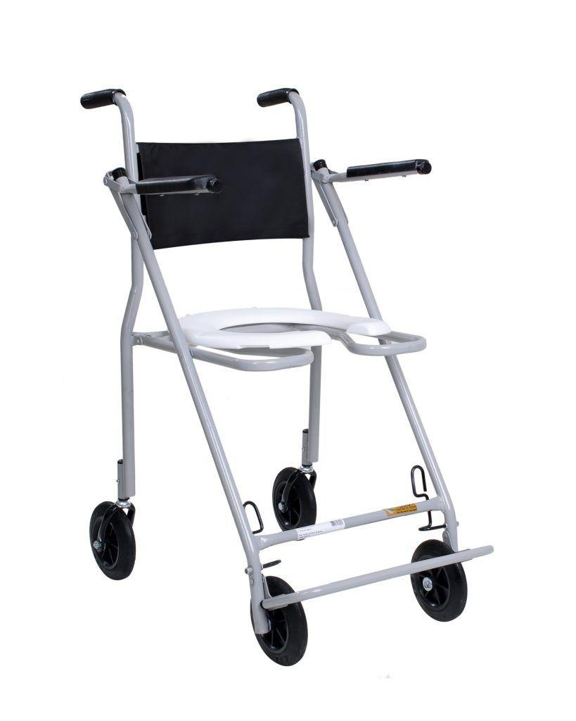 Cadeira De Banho Compacta  203 Cds Cinza