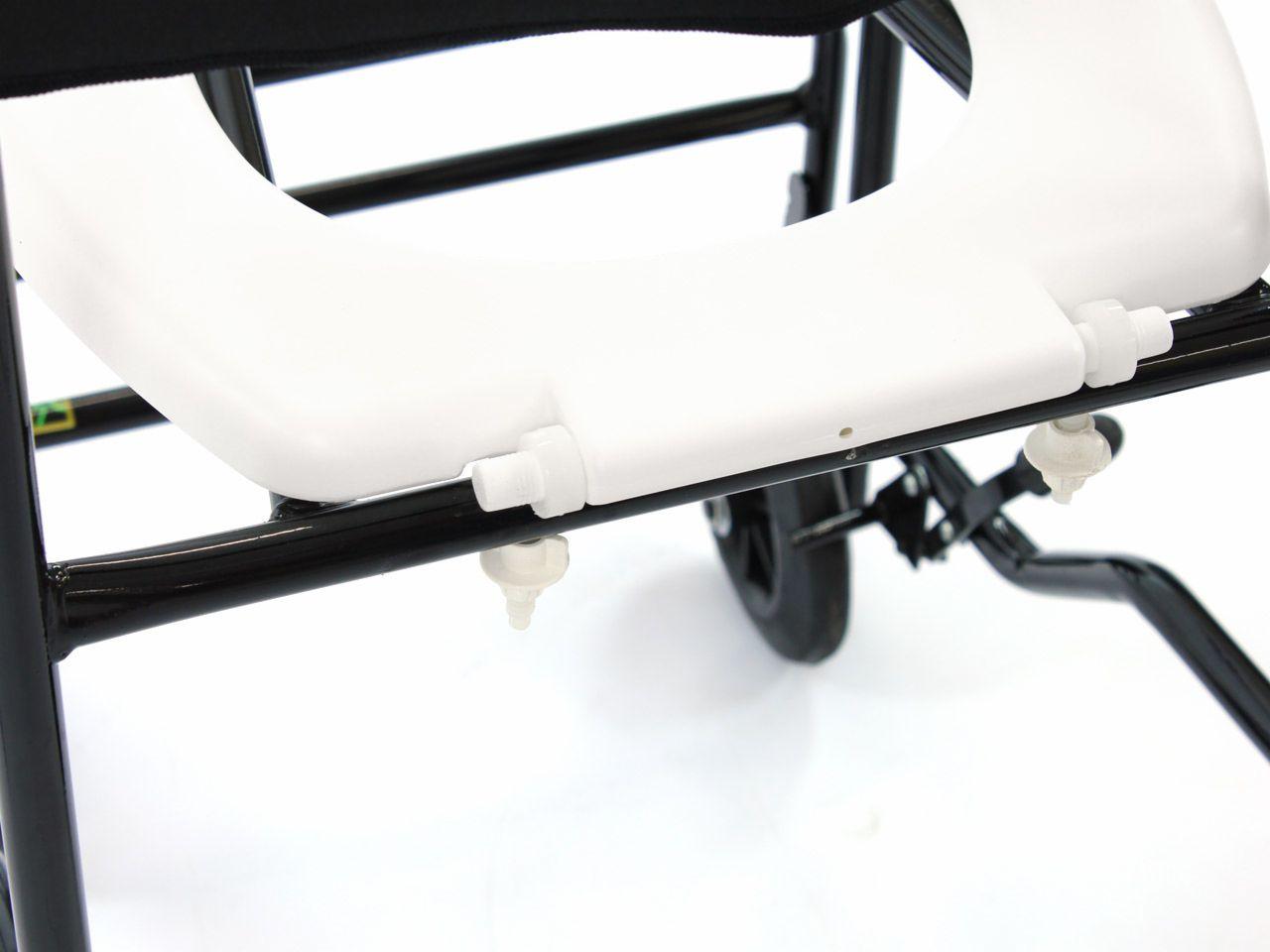 Cadeira De Banho Higiênica 202 Cds Preto