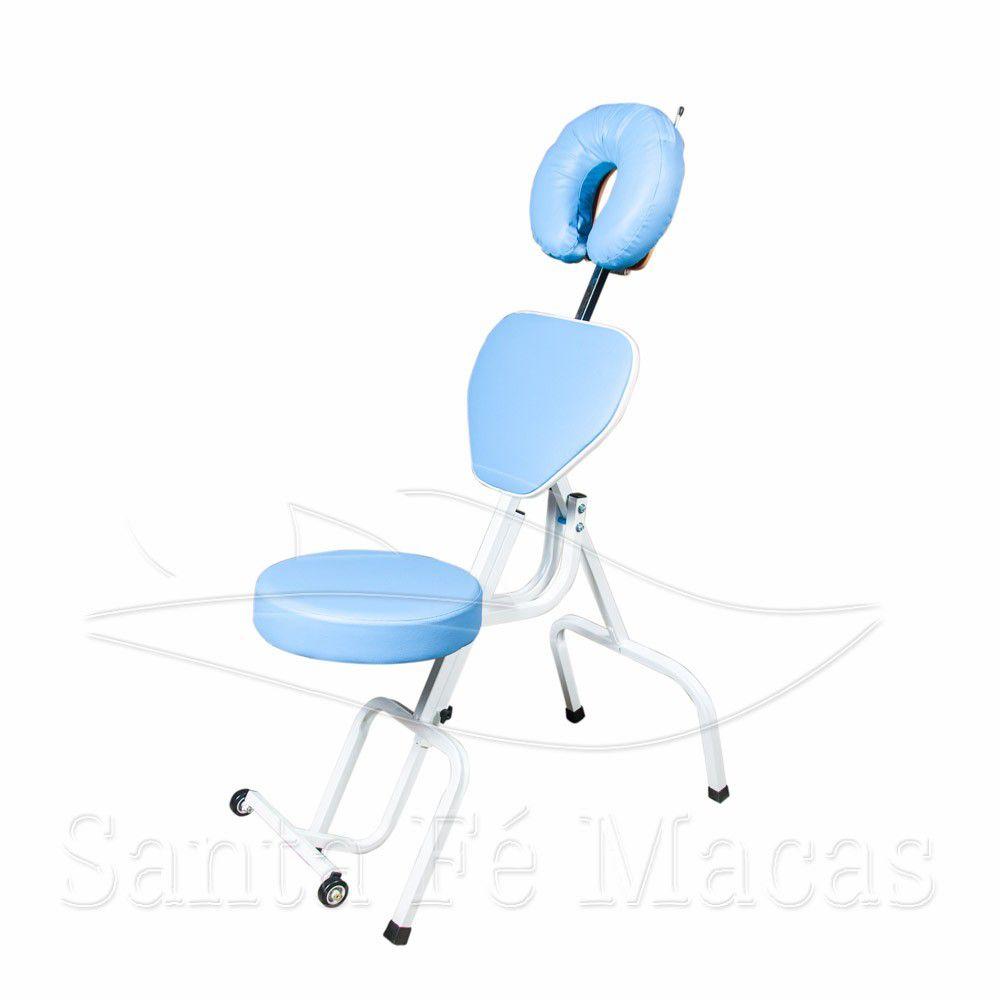Cadeira De Maquiagem E Design De Sobrancelhas Portátil Legno