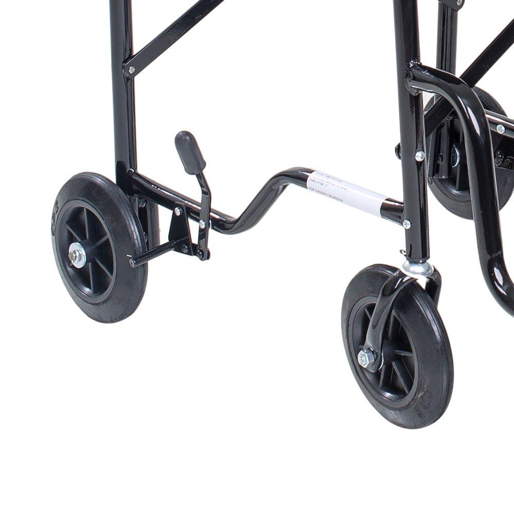 Cadeira De Rodas Cds Econômica Preto