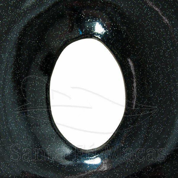Maca Portátil com orifício Glitter