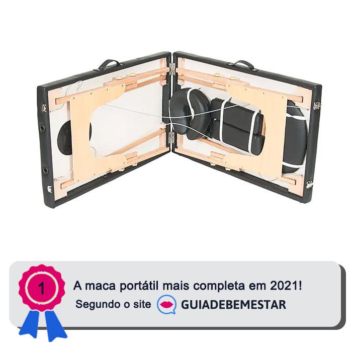 Maca Portátil Standard Reclinável 250kg