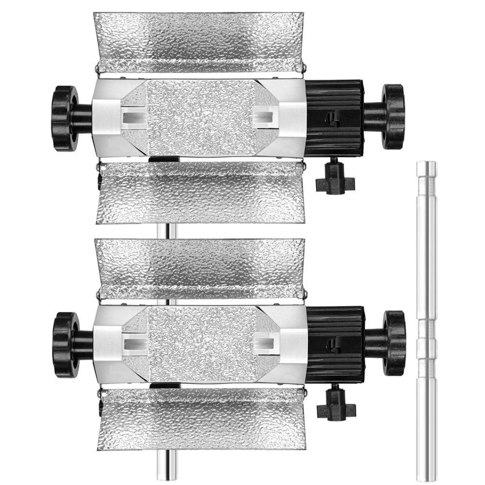 AT805 - Adaptador vertical para dois iluminadores