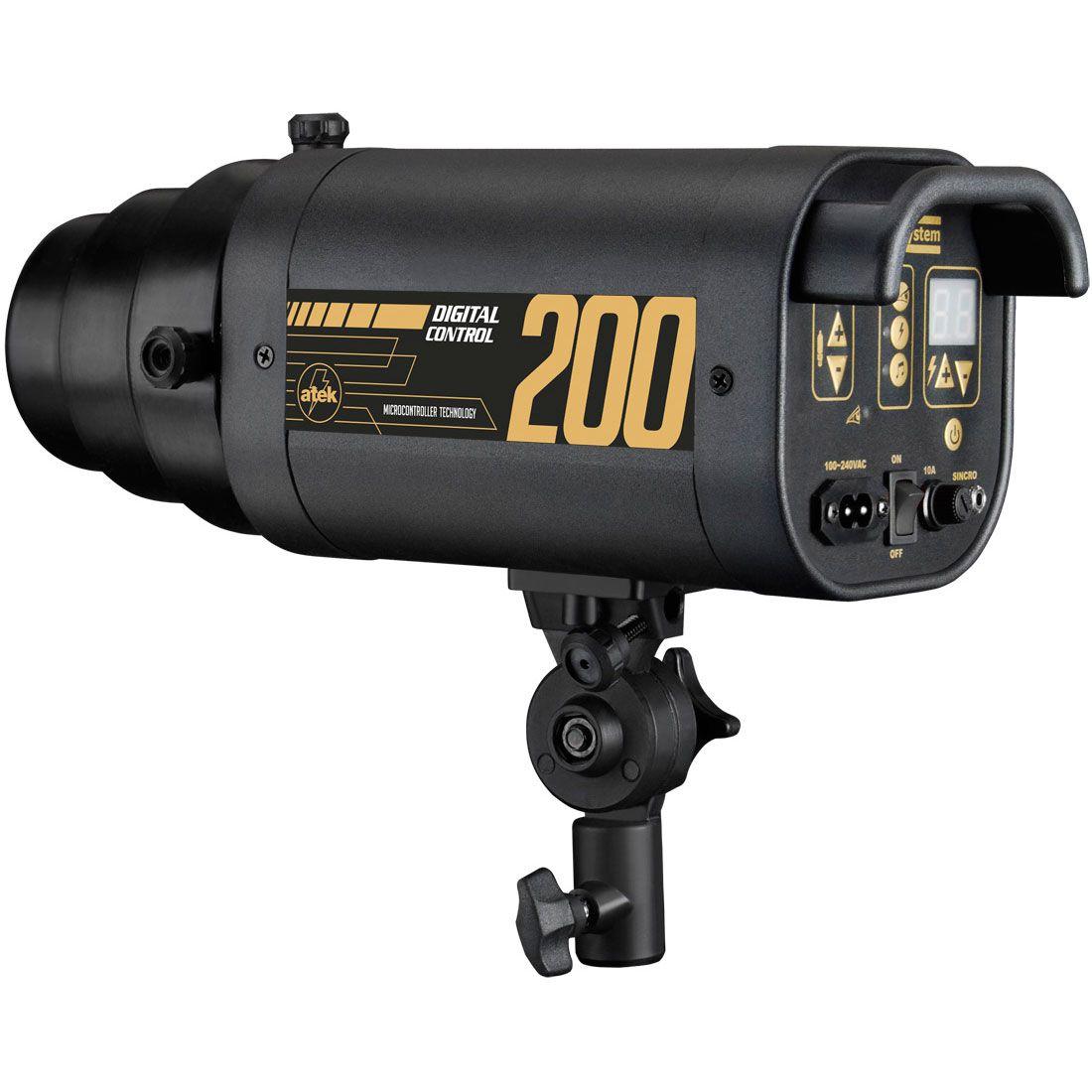 AT1560 – Conjunto NewBorn com Soft Sombrinha 150 + Flash Digital 200 Control