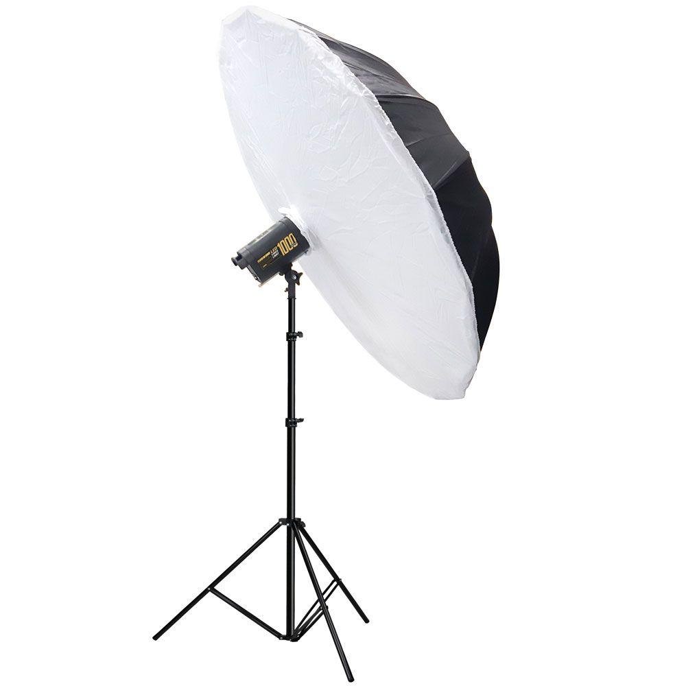 AT1570 Conjunto NewBorn com Soft Sombrinha 150 + Video Light LED 1000