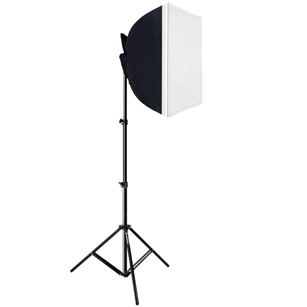 AT218 Kit Super Light com Soft Box Especial 50 x 50cm