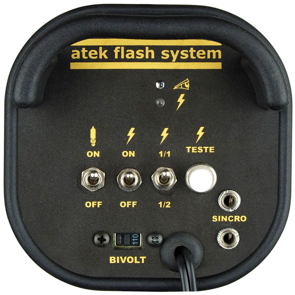 AT600C Conjunto New Compact 350 Luz de Cabelo