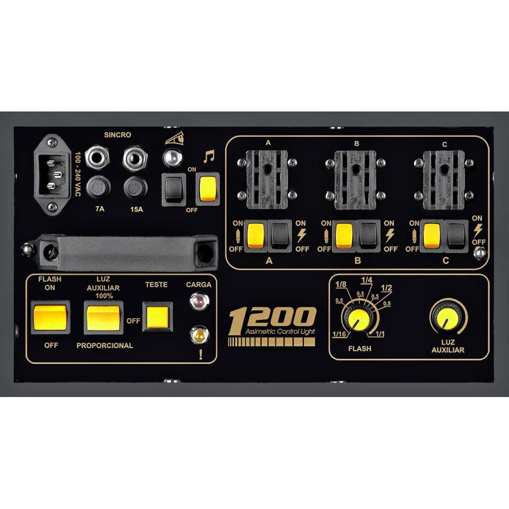 AT439 Gerador 1200 ACL com 3 Tochas Pirex