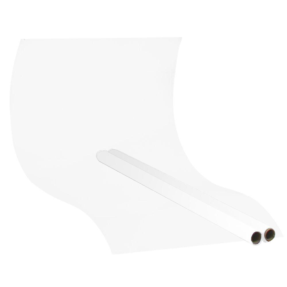 AT586 Rolo de Papel Branco para Fotografia de Produtos