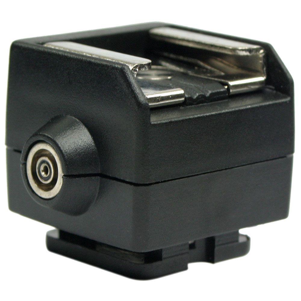 ATSAP Sapata PC para câmeras Canon e Nikon