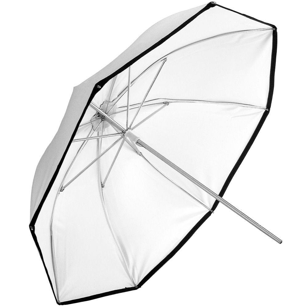 Sombrinha Plástica Branca