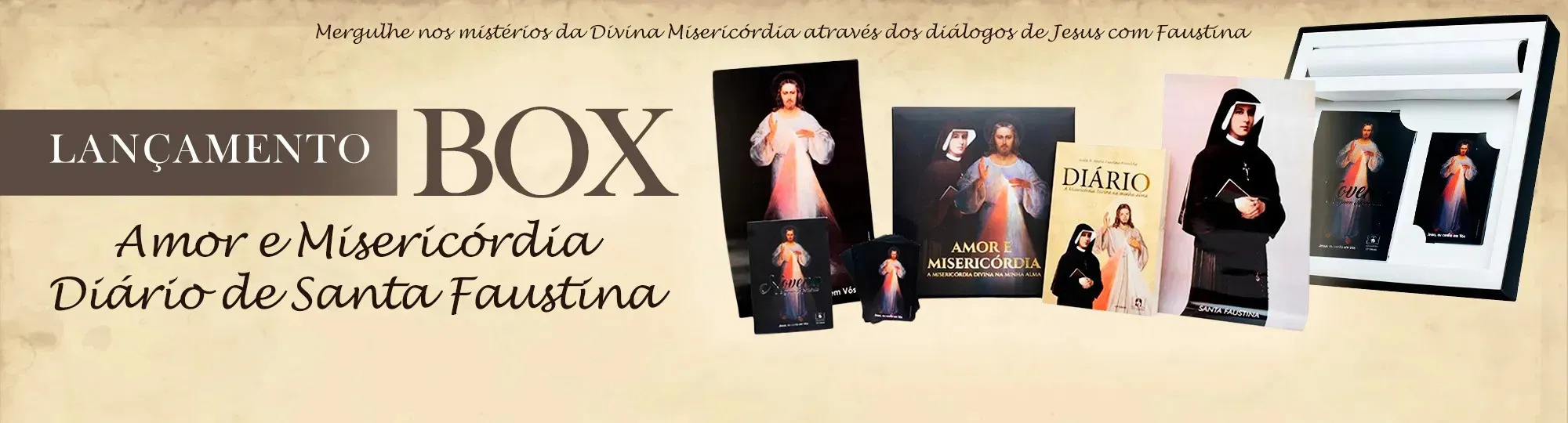 Box Amor e Misericordia