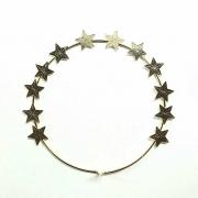 Auréola 12 Estrelas 9cm