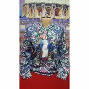 Blusa de Moletom Estampa Nossa Senhora das Graças Flanelado