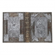 Capa de Evangeliário Excelsis Deo Silvério