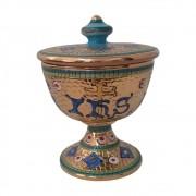 Cibório de Porcelana IHS Bizantino
