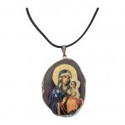 Colar Italiano com Medalha de Nossa Senhora