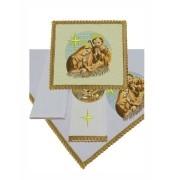 Conjunto de Alfaias Litúrgicas 300-B2024 Dourada