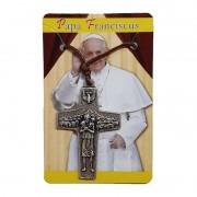 Cordão Cruz do Papa Francisco 4cm