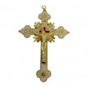Crucifixo 15cm Raiado