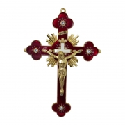 Crucifixo Ornado 26cm
