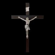 Crucifixo Tradicional 40x25 Prata