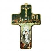 Cruz de Parede Santa Ceia 17,5x11cm