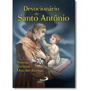 DEVOCIONARIO DE SANTO ANTONIO - NOVENA TREZENA E ORACOES DIVERSAS