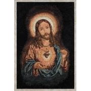 Estandarte Italiano Coração de Jesus 54x38
